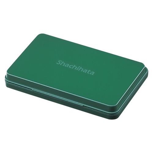 シヤチハタ シヤチハタスタンプ台 大型 緑 HGN-3-G 00067938【まとめ買い3個セット】