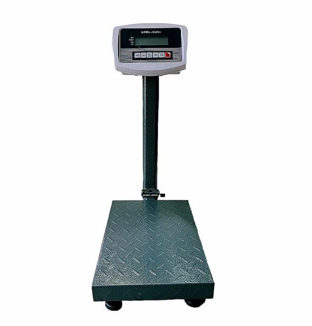 【6ヶ月保証】 デジタル台はかり100kg/20g折畳み式 防塵タイプ 電池式 スチール製 トレー付【三方良し】【はかりデジタル計り量り】【