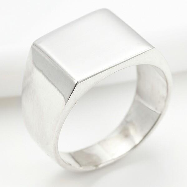 リング 指輪 シルバー925製 金属アレルギー対応 太め ゴツめ シンプル カジュアル クール シルバー メンズ プレゼント ギフト 送料無料