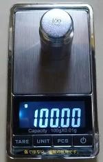 最新商品小型デジタル精密はかりデジタルスケール単位●0.01gで100gまで計量数も数える精密光るはかり日本語説明書付デジタルはかり