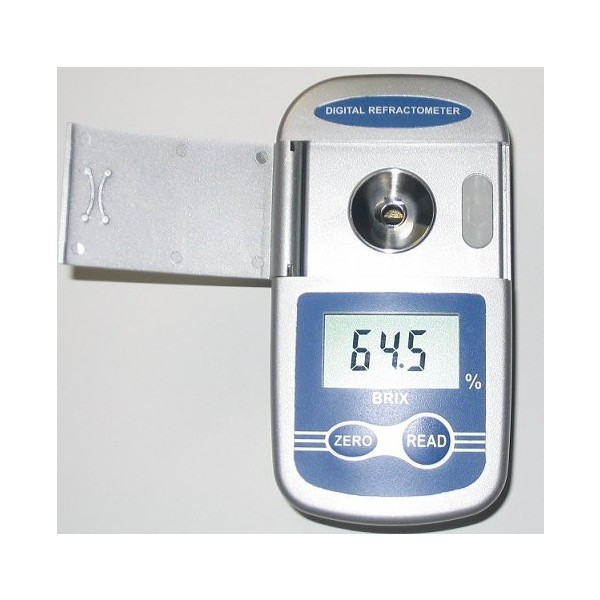 限定2台1年保証低濃度から中濃度(0-65%)糖度が瞬時にわかる高性能 ポケットデジタル屈折計デジタル糖度計(Brix0-65%)