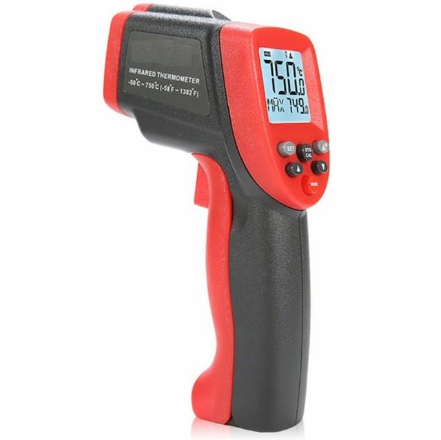 新商品メモリ機能高性能0.5秒瞬間計測!日本語取説(-50〜750℃)触れずに計れる非接触温度計 赤外線温度計 赤外線放射温度計