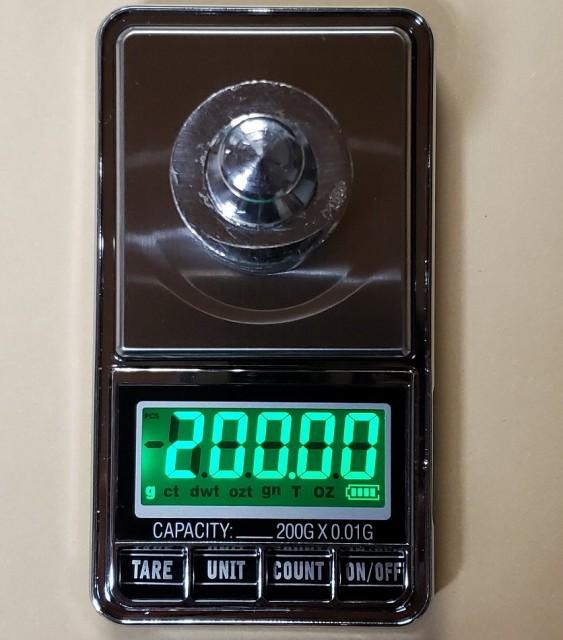 分銅付DC電源使用可能最新はかり0.01g単位で200gまで計量スケール精密はかり小型光るはかり日本語説明書付数量も計量可能デジタルはかり