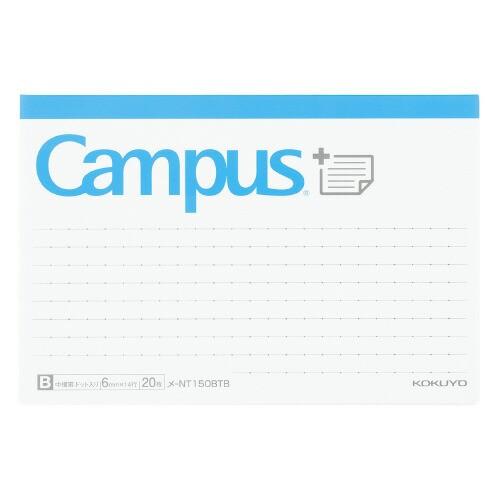 コクヨ(-NT150BTB)キャンパスまとめがはかどるノートふせん ドットB罫 ボトムタイプ