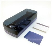 カール (NO-870E-B) 名刺整理器 青 収容枚数 800枚