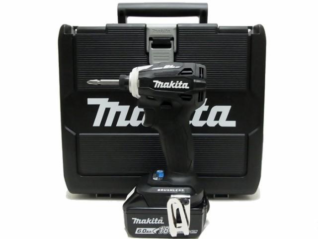 マキタ makita 充電式インパクトドライバ TD172DRGXB ブラック 18V 6.0Ah バッテリ2個・充電器付き
