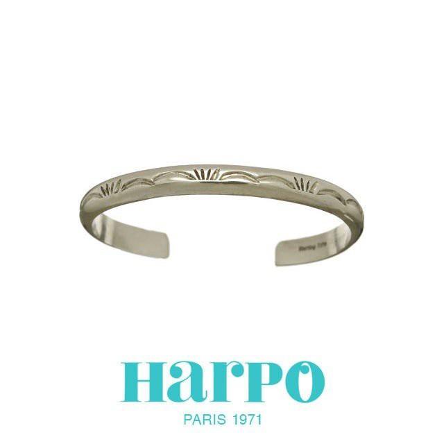 HARPO アルポ NAVAJO BRACELET BRW28 ナバホ シルバー バングル ブレスレット ハルポ レディース ブランド インディアンジュエリー パリ