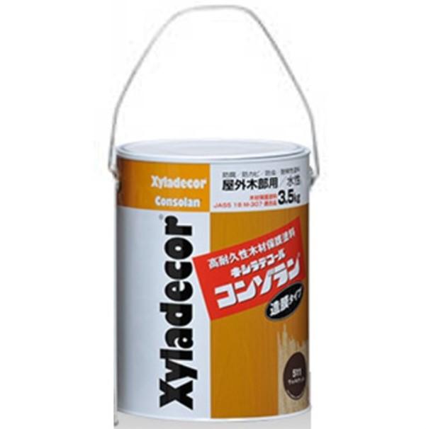 キシラデコールコンゾラン #550ブリリアントイエロー 3.5L【大阪ガスケミカル株式会社】