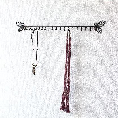 アイアンアクセサリーホルダー キーフック 鍵掛け 鍵収納 アンティーク風フック ネックレス キーフック 壁掛けアクセサリーホルダー