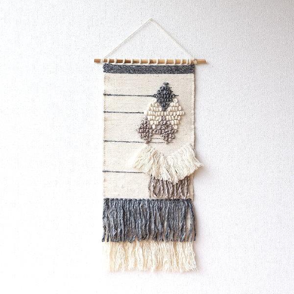 タペストリー おしゃれ 壁掛け 北欧 モダン 和風 和モダン ナチュラル 布 刺繍 吊り下げ ウォールタペストリーBENETT