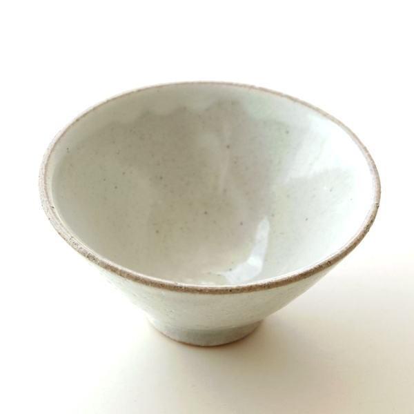 お茶碗 ご飯茶碗 おしゃれ 陶器 日本製 瀬戸焼 シンプル 和食器 焼き物 飯碗 ご飯茶わん 粉引 姫茶碗