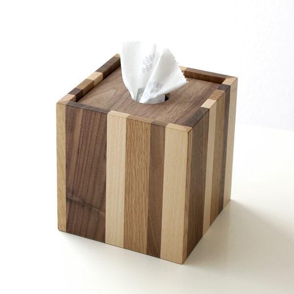 ティッシュケース おしゃれ 木製 ティッシュボックス ティッシュカバー シンプル デザイン ウッドRペーパーボックス