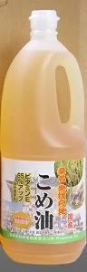 (6本セット) 油清 桑名のこめ油 1500g×6本セット (1ケースセット)