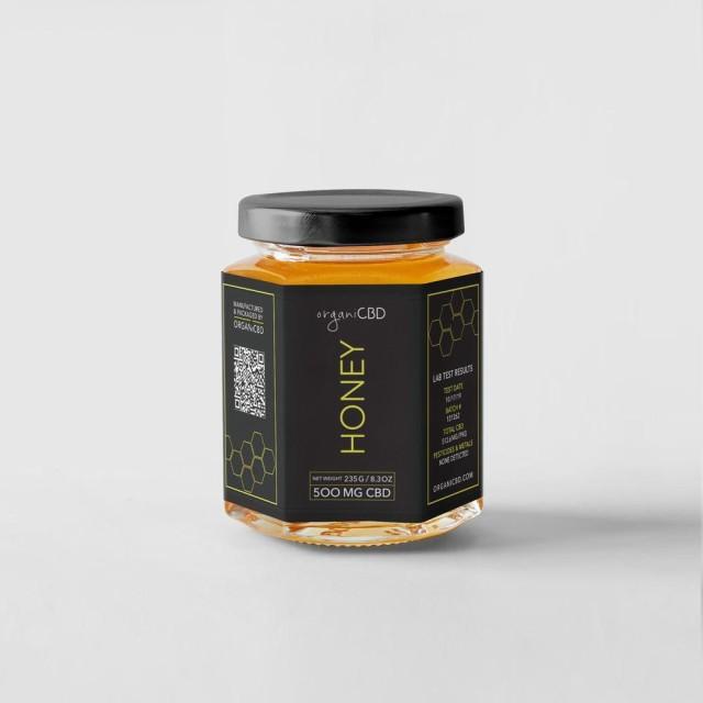 【20%OFFクーポン有】CBD ハニー 500mg 235g organi オルガニ 蜂蜜 オーガニック 由来 大容量 コスパ ギフト オイル