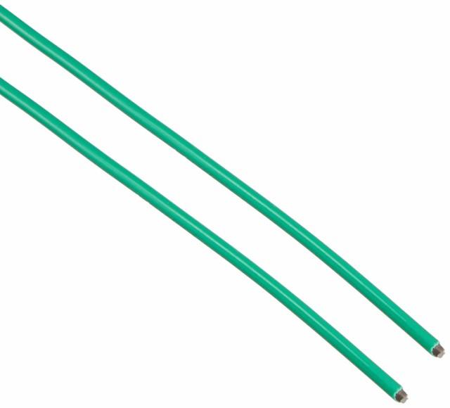 TRUSCO(トラスコ) カラー針金 ビニール被覆タイプ グリーン 線径2.6mm TCW-26GN