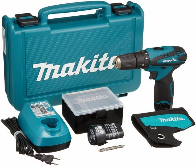 マキタ(Makita) 充電式震動ドライバドリル 10.8V 1.3Ah バッテリー2個付き HP330DWX