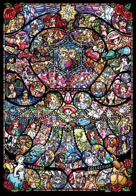 1000ピース ジグソーパズル ディズニー ディズニー ピクサー ヒロインコレクション