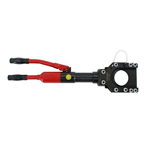 送料無料 新品 油圧式ケーブルカッター ワイヤーカッター 〜75mm 油圧式 ケーブルカッター 電線カッター 電線 ケーブル カッター