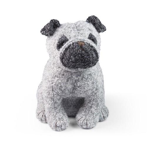 アニマルドアストッパー Dora Designs ドラデザイン イギリス ブックエンド 犬 イヌ パグ かわいい 動物 置物 インテリア プレゼント ギ