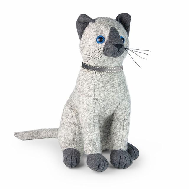 アニマルドアストッパー Dora Designs ドラデザイン イギリス ブックエンド 猫 シャム猫 かわいい 動物 置物 インテリア プレゼント ギ