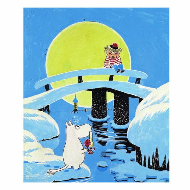 MOOMIN ムーミン Putinki プティンキ フィンランド アートワークポストカード ムーミンとトゥーティッキ 絵はがき メッセージカード 北