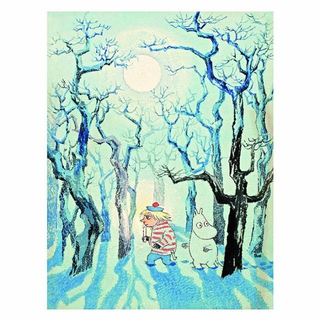 MOOMIN ムーミン Putinki プティンキ フィンランド アートワークポストカード トゥーティッキ 絵はがき メッセージカード 北欧雑貨 プ
