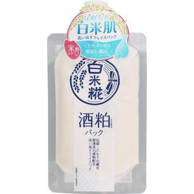 白米糀 酒粕フェイスパック 170g