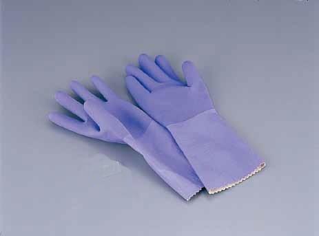 ゴム手袋 M ダンロップ ゴム手袋 デジハンド ソフト(天然ゴム・裏シームレス加工)M 7-1383-0401