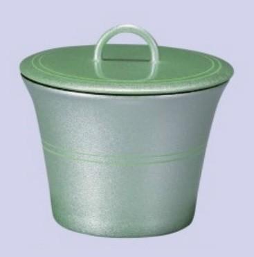 お椀 リング無地椀 グリーン銀彩 耐熱ABS樹脂 食器洗浄機対応 f5-197-3