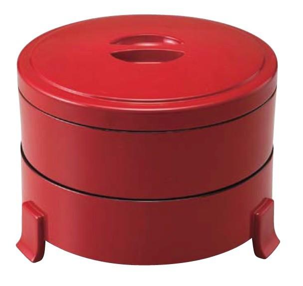 三ツ足丸重 赤二度塗内黒 ABS樹脂 f6-1038-6-7-8