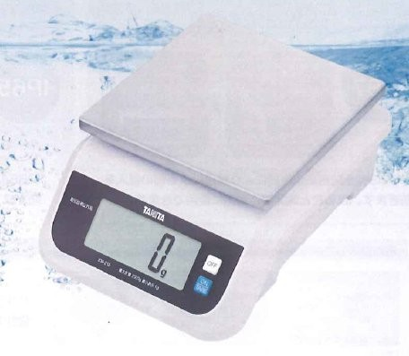 はかり タニタ 防塵防水デジタルスケールKW-210 5kg-防水デジタルスケール