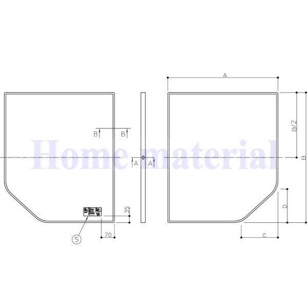 送料無料 お風呂のふた TOTO 風呂ふた 組み合わせ式 組みふた 断熱風呂蓋 EKK84128W1 (代替品 AFKK84128W ) 695×1180