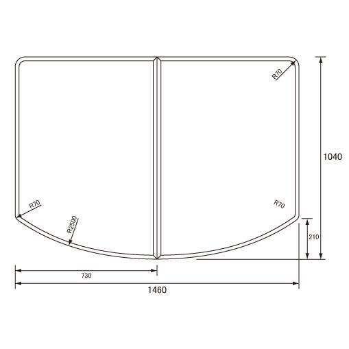 お風呂のふた パナソニック (松下電工 ナショナル) 組みふた 風呂ふた GZG962C 1040×1460mm (GZG962の代替品)