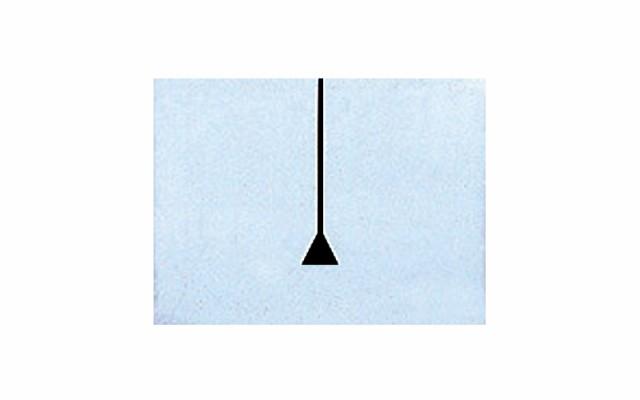 シンワ測定 マシンスケール基準目盛板 穴なし 14165