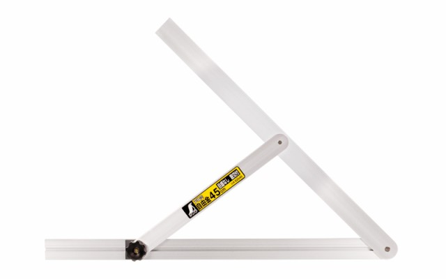 シンワ測定 アルミ自由金 45cm 目盛なし 筋交付 62540