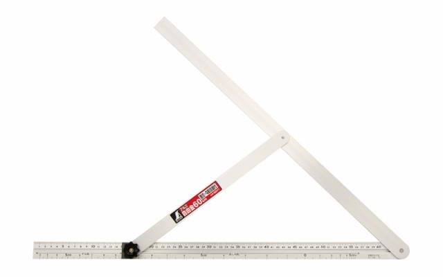 シンワ測定 アルミ自由金 60cm 勾配目盛 筋交付 62571