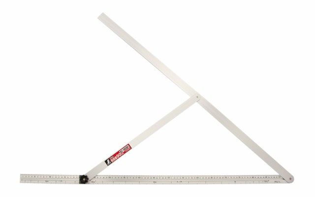 シンワ測定 アルミ自由金 90cm 勾配目盛 筋交付 62572