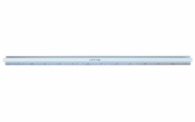 シンワ測定 アルミカッター定規 カットレール 2m 併用目盛 65078