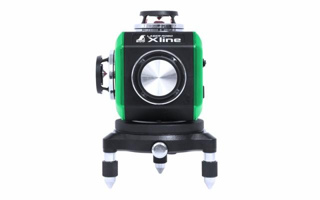 シンワ測定 レーザーロボ X line グリーン フルライン・地墨クロス 71608