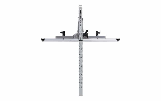 シンワ測定 丸ノコガイド定規 Tスライド スリムシフト 15cm 併用目盛 73312