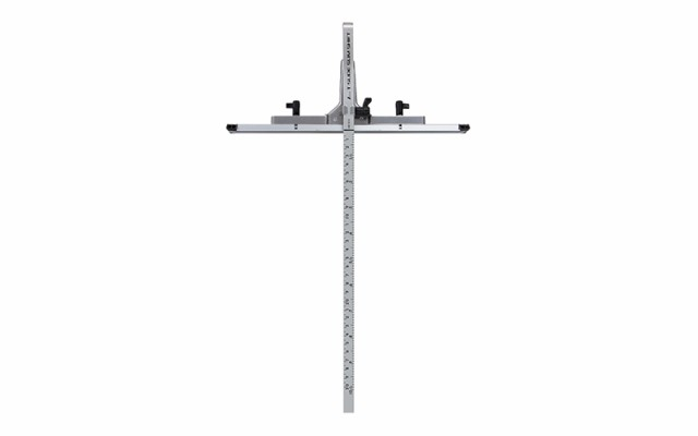 シンワ測定 丸ノコガイド定規 Tスライド スリムシフト 30cm 併用目盛 73313