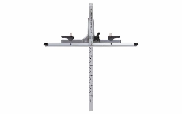 シンワ測定 丸ノコガイド定規Tスライド スリムシフト2 15cm併用目盛 73541