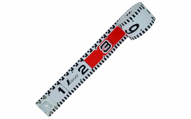 シンワ測定 ロッドテープ ガラス繊維製 10m 巾60mm 76971