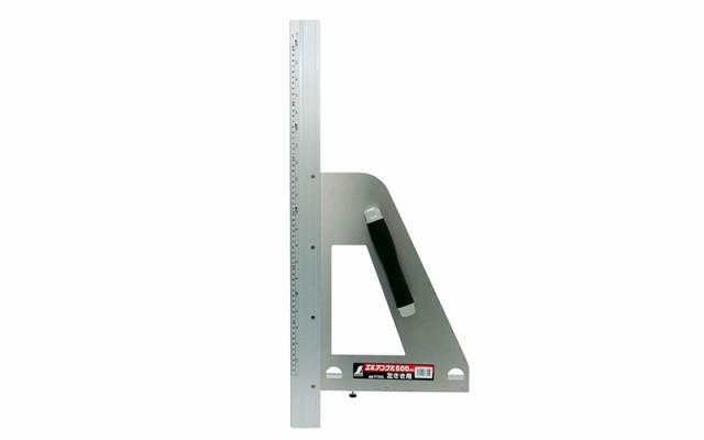 シンワ測定 丸ノコガイド定規 エルアングル 60cm 併用目盛 左きき用 77805
