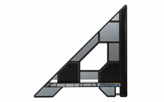 シンワ測定 丸ノコガイド定規 トライアングル ポリカ 30cm 78280