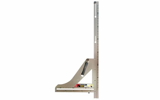 シンワ測定 丸ノコガイド定規 エルアングル 1m 併用目盛 横目盛付 78570