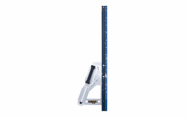 シンワ測定 丸ノコガイド定規 エルアングルPlusシフト1.2m寸勾配切断機能付 79055
