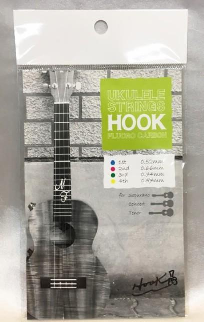 ウクレレ弦 HOOK Ukulele Strings Fluoro Carbon