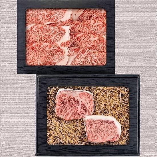石井食品 おかやま和牛 ステーキ すき焼セット 産地直送 正規代理店