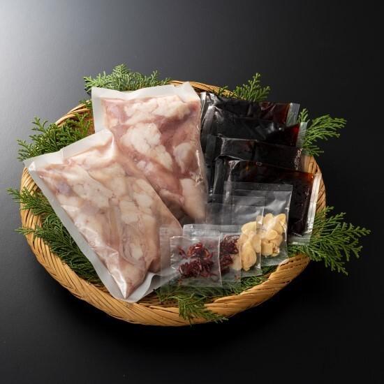 石井食品 国産牛「とろ小腸」もつ鍋セット(醤油)2袋 産地直送 正規代理店